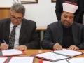 الاوقاف وجامعة القدس توقعان اتفاقية ...