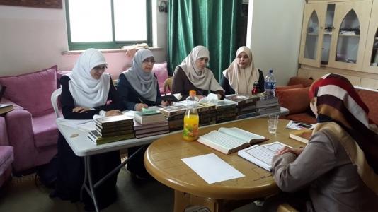 اوقاف بيت لحم تعقد امتحان التجويد للمحفظات في مستوى السنة الثالثة